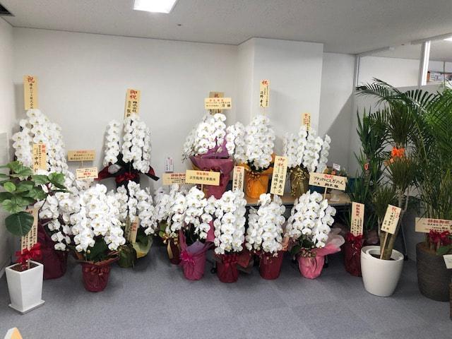 本社移転お祝いのお礼   10/19(月)