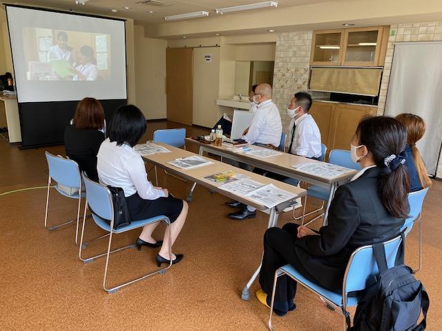 入社時研修の開催 (加古川エリア)7月29日(水)
