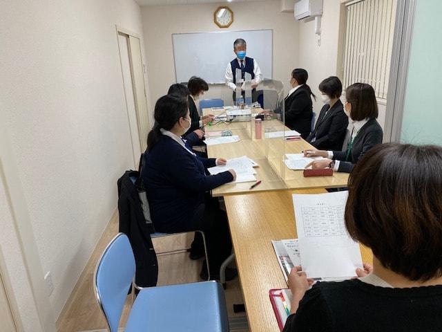 入社時研修の開催