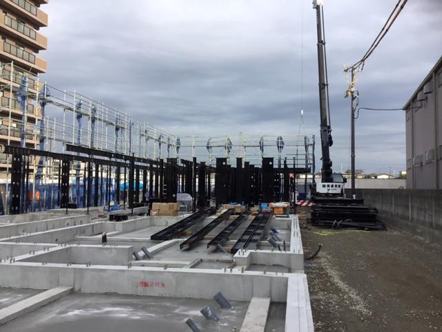 翔月庵加古川 新築工事(9月)進捗状況です。